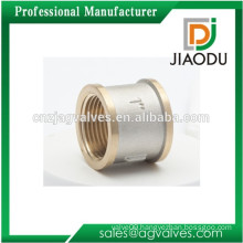 1/2 Inch 29mm 3/4 Inch 32mm 1Inch 34mm 1.1/4 1.1/2 Inch 42 47mm 2 Inch Brass Nickel chrome plated Yellow thread Socket Fitting